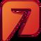 Logo Azteca 7 (2014-2016)
