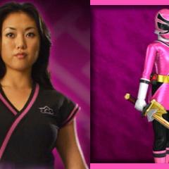 Mia Watanabe (Ranger Samurai Rosa) en <a href=
