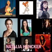 Nathalia hencker y sus personajes
