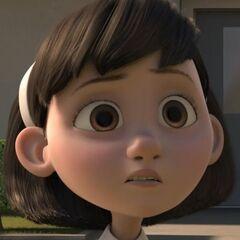 La niña en <a href=