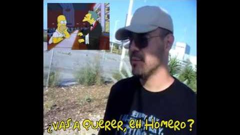 Jorge Ornelas - Moe Szyslak, Los Simpson Latino
