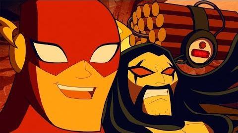 Justice League Action ¡Bip bip! Webisodio 2