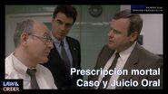 Prescripción de la muerte - Caso y Juicio Oral