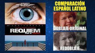 Réquiem por un Sueño -2000- Doblaje Original y Redoblaje - Español Latino - Comparación y Muestra