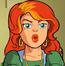 Angelica Jones de El Escuadrón de Superhéroes episodio Demasiados Wolverines