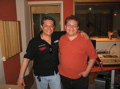Carlos Segundo y Javier Rivero