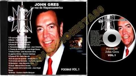 JOHN GRES COLECCION DE POEMAS VOL