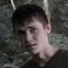 Logan en la película de terror <a class=