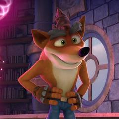 Crash Bandicoot en <a href=