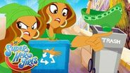 Reciclaje DC Super Hero Girls Latino America