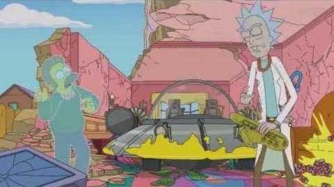 Rick y Morty matan a Los Simpson - Español Latino-0