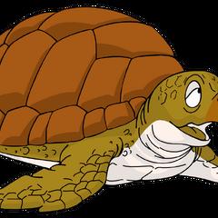 Tortuga de mar (1ª y 4ª voz) en la franquicia <a href=
