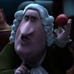 Isaac Newton en <a href=