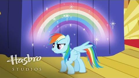 My Little Pony La Magia de la Amistad - Conoce a Rainbow Dash