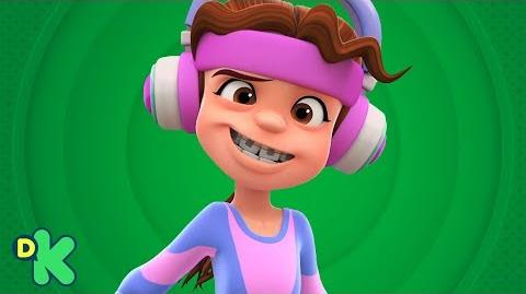 ¡Baby gym con Dolores! Mini Beat Power Rockers Discovery Kids Latinoamérica