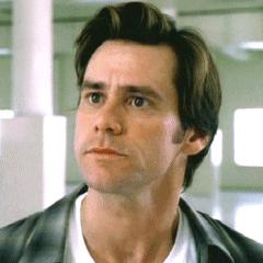 Bruce Nolan en la tercera versión de <a href=