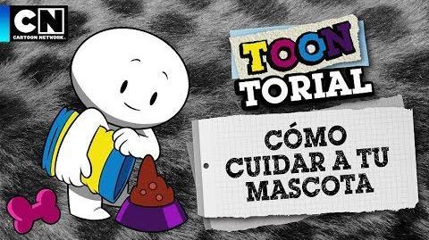 Cómo cuidar a tu mascota Toontorial Cartoon Network