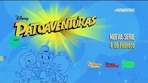 Patoaventuras (2017) - Estreno simultáneo en Disney Channel, Disney XD y Disney Junior Latinoamérica
