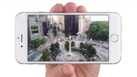 Comercial iPhone 6 en Chile, tamaño