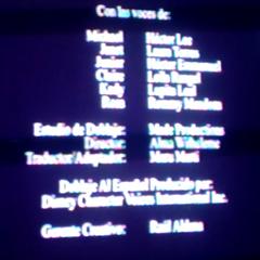 Créditos de la temporada 1.