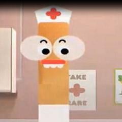 Enfermera de la Escuela también en <a href=