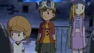 Takuya y sus amigos comienzan el plan para destruir la fabrica - Latino