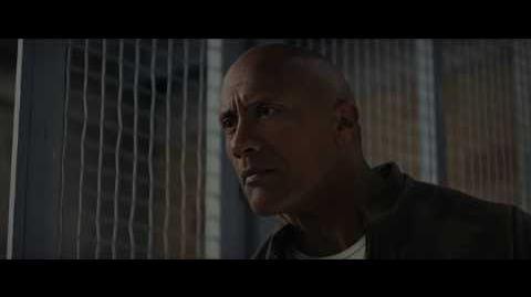 """""""Rampage Devastación"""". Con Dwayne Johnson. Oficial Warner Bros"""