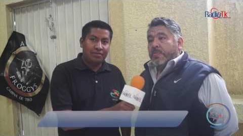 Actor de doblaje se presenta en Tecamachalco