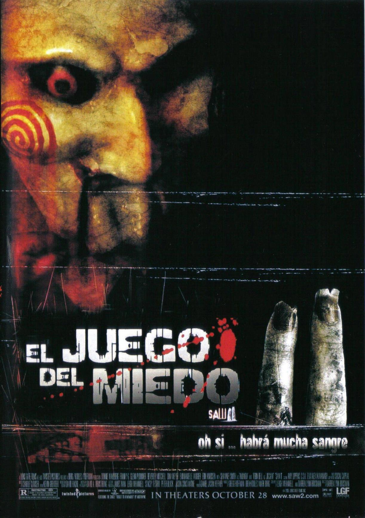 El Juego Del Miedo Ii Doblaje Wiki Fandom Powered By Wikia