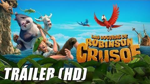 Las Locuras de Robinson Crusoe - The Wild Life - Trailer Doblado (HD)-1