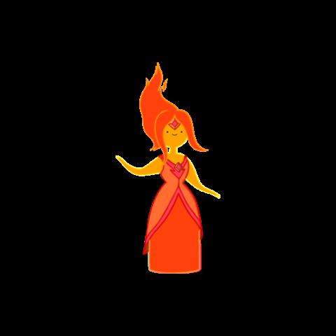 Princesa Flama en <a href=