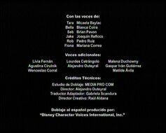 Créditos del doblaje latino de Evermoor (TV) (DC) (Película)