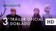 Frozen 2, de Disney - Nuevo tráiler oficial (doblado)