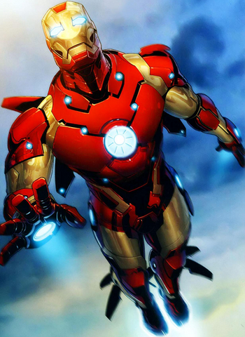 Iron man personaje doblaje wiki fandom powered by wikia - Image de iron man ...