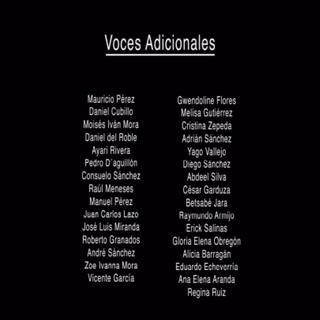 Creditos del DVD 2