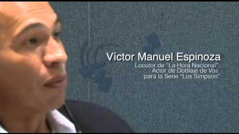 Víctor Manuel Espinoza - La hora nacional