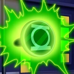 Anillo de Linterna Verde en <a href=