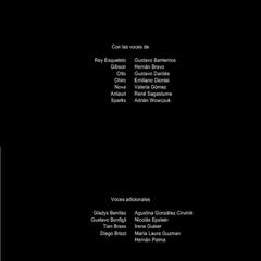 Créditos Temporada 3 (doblaje Argentino)
