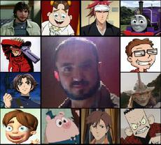 Gabriel Ortiz y sus personajes