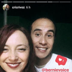 Cristina y <a href=