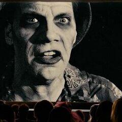 Zombi en la película también en <a href=