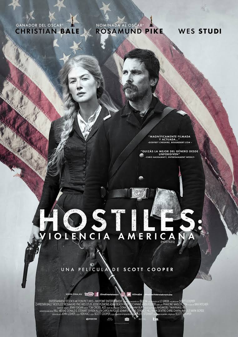HOSTILES: VIOLENCIA AMERICANA[2017] [1080p BRrip] [Latino-Inglés] [GoogleDrive]