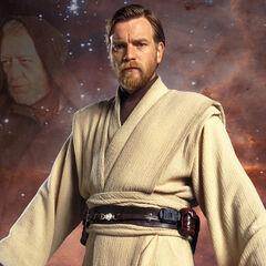<b>Obi-wan Kenobi</b> de la trilogía de precuelas de <a href=