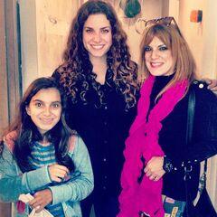 Patricia junto a su hija <a href=