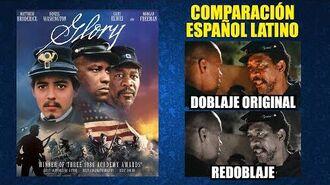 Días de Gloria -1989- Comparación del Doblaje Original y Redoblaje -Español Latino-