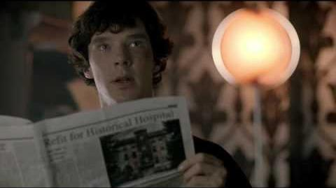 Escándalo en Belgravia Escena Sherlock doblada