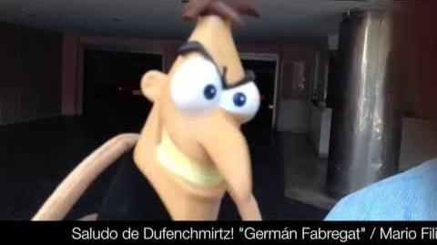 "Saludo de Dufenchmirtz! ""Germán Fabregat"""