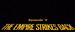 Star Wars Episodio V El imperio contraataca - Títulos
