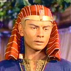 Faraón Ramsés II en el segundo doblaje también del clásico <a href=