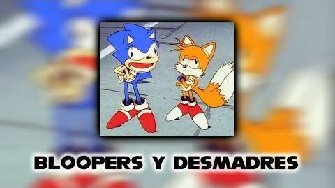 Sonic (OVA) - ¡Sesiones de grabación + bloopers!
